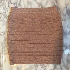 Bandage skirt in Blush Pink